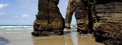Все про пляж Кафедральных Соборов в Рибадео Испания