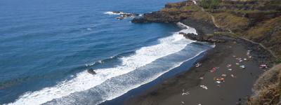 Обзор целебных черных пляжей Испании
