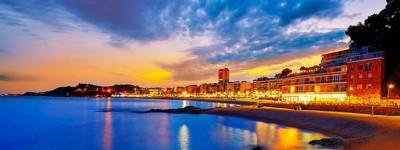 Красивые пляжи и бухты Льорет-де-Мар