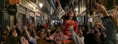 Ночная жизнь Мадрида бурлит, несмотря на пандемию