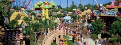 Парк аттракционов Порт Авентура в Испании