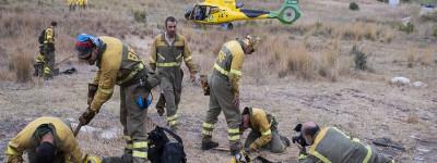 Усилия по локализации пожара в Малаге впервые за пять дней демонстрируют прогресс
