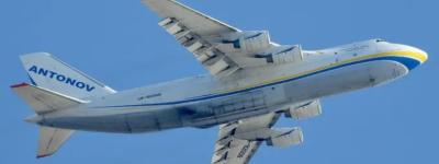 Второй по величине грузовой самолет в мире приземлялся в Валенсии