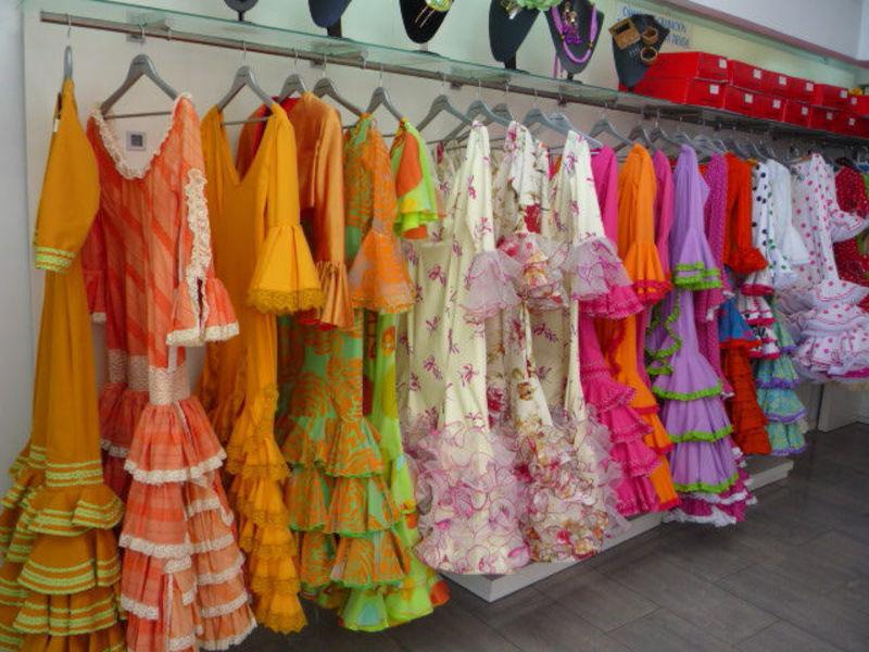 испанские платья