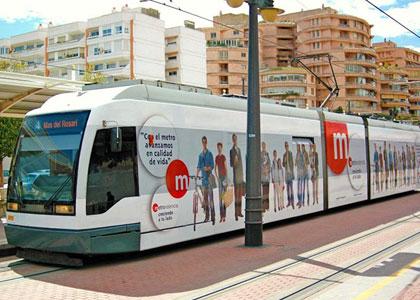Метро в Валенсии