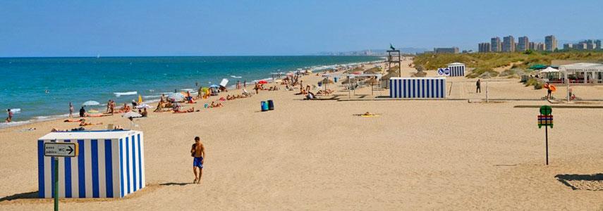 Playa nudista del saler