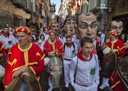 Праздник Сан-Фермин культовое наследие Испании