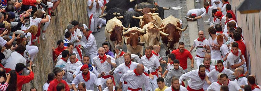 Праздник Сан-Фермин в Испании