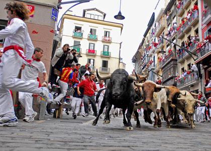Забег быков культовое наследие Испании