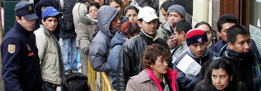 иммигранты в Испании