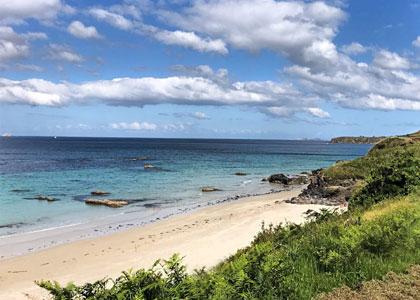 На пляже Playa de Bascuas