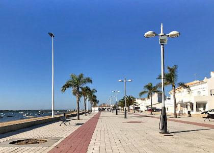 Набережная Playa de Nueva Umbría