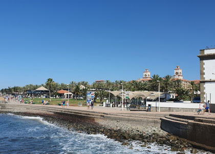 Набережная пляжа Maspalomas