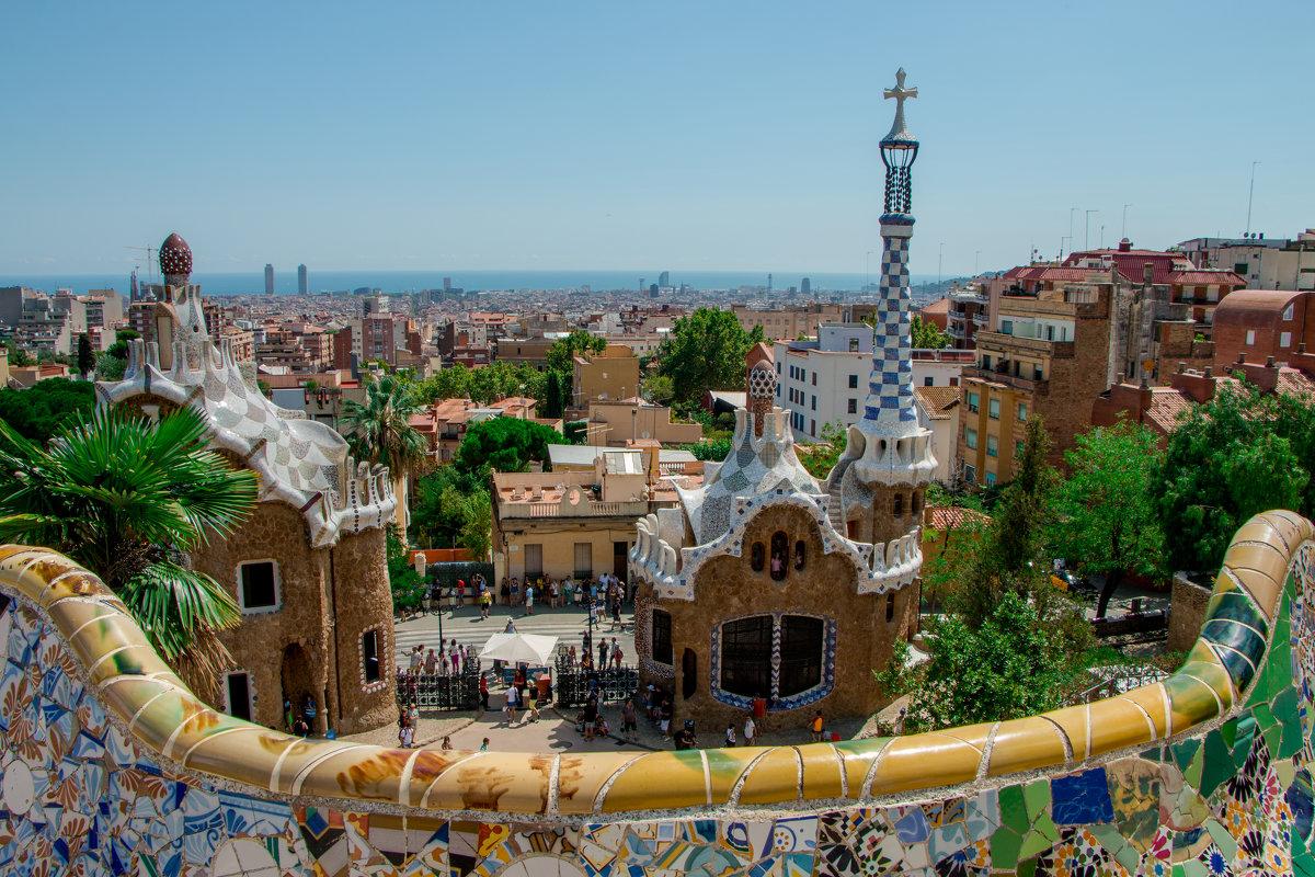Парк в Барселоне