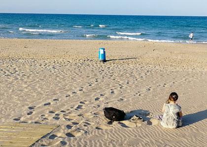 Пляж Platja del Mareny de Sant Llorenç