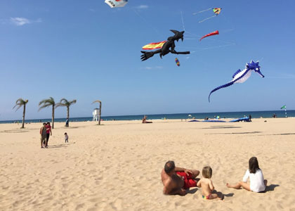 Пляж Playa De L'Ahuir