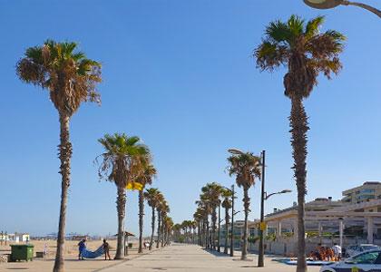 Променад у Playa del Saler