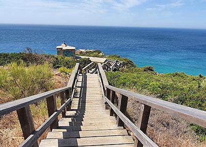 Спуск к пляжу Playa del Cañuelo