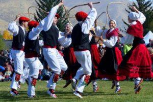 женский национальный костюм басков