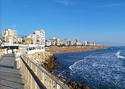 Вид на Playa De L'Ahuir