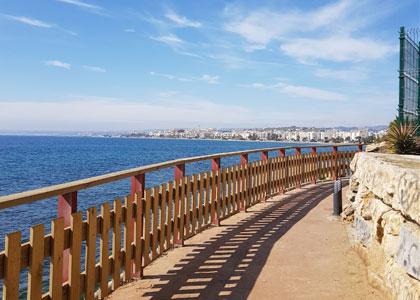Вид на Playa de la Cala
