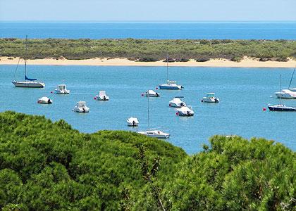 Вид на Playa de Nueva Umbría