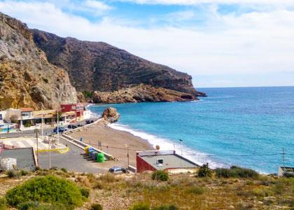 Вид на Playa de Portús