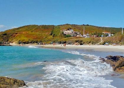 Вид на пляж Playa de Bascuas