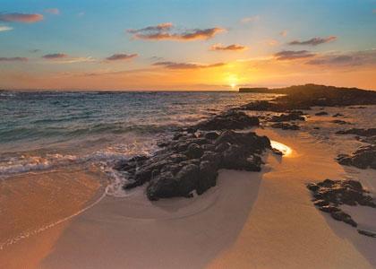 Закат на Playa del Rio