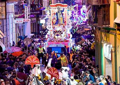 Парад в честь праздника трех королей