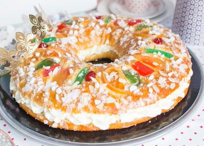 Пирог с цукатами испанский роскон