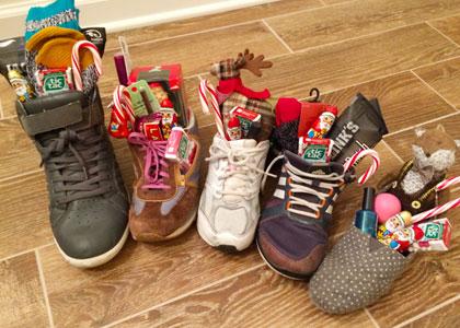 Подарки в ботинках