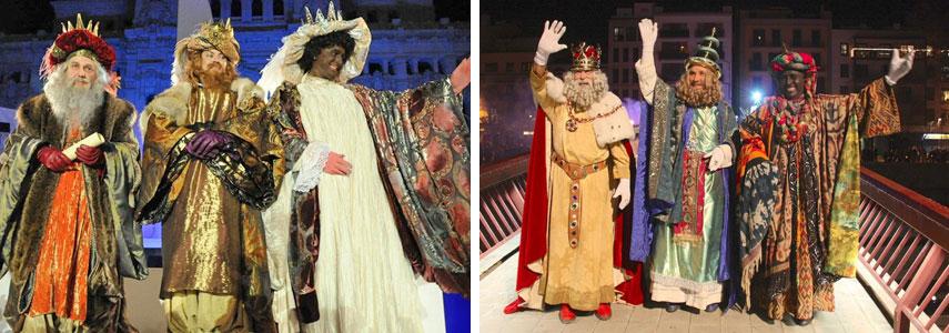 Праздник Da de los Reyes Magos