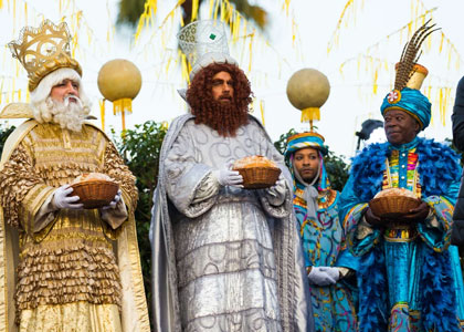 Три Короля-волшебника принесли дары