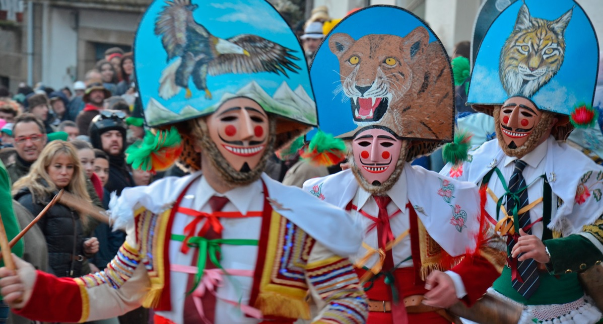 карнавал в галисии
