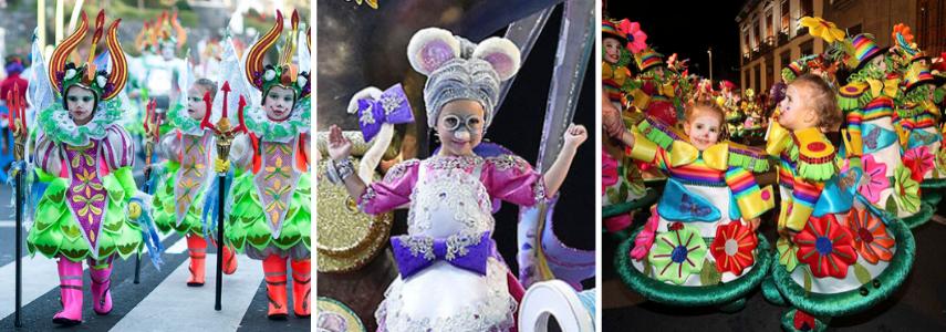 Дети на карнавальном шествии