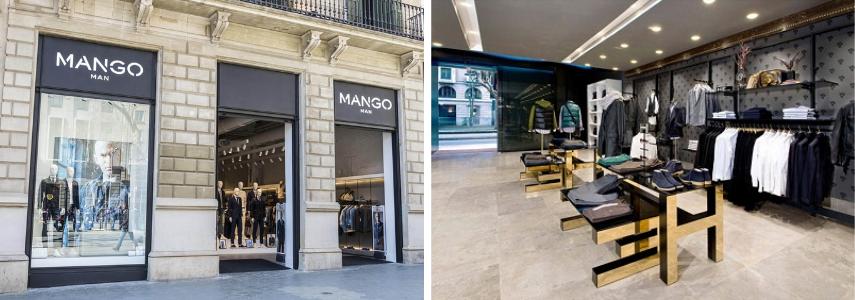 Манго в Барселоне