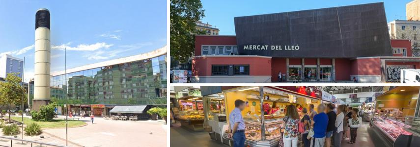 Plaza de Miquel Santalo Mercat del Lleó