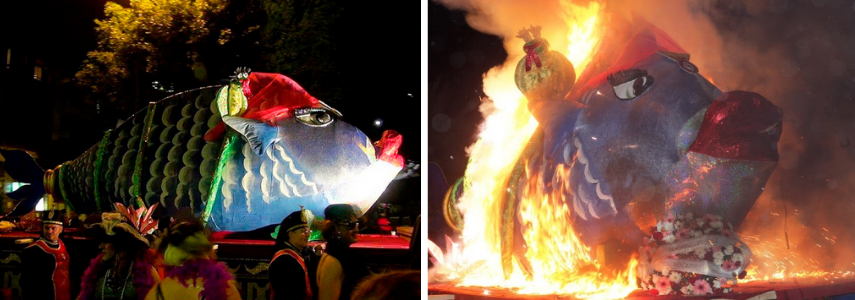 Похороны сардины конец карнавала