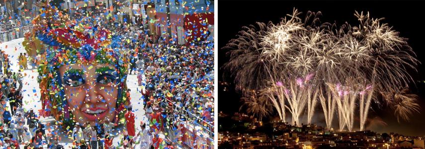 Закрытие карнавала