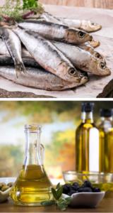 Анчоусы и оливковое масло