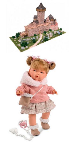 Керамический конструктор и Кукла