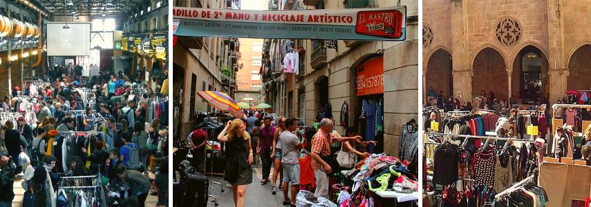 Two Market, Rastro de la Virgen, Demanoenmano.