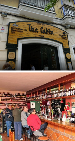 The Cabinи Cervezas del Mundo