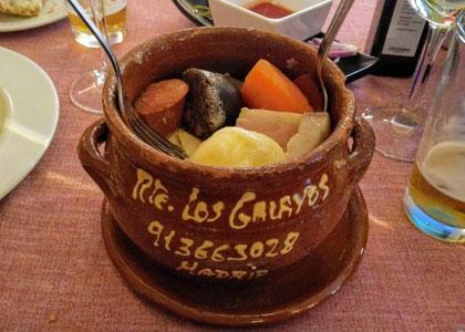 Блюдо в ресторане Los Galayos
