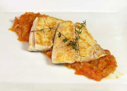 Блюдо в ресторане Zuberoa