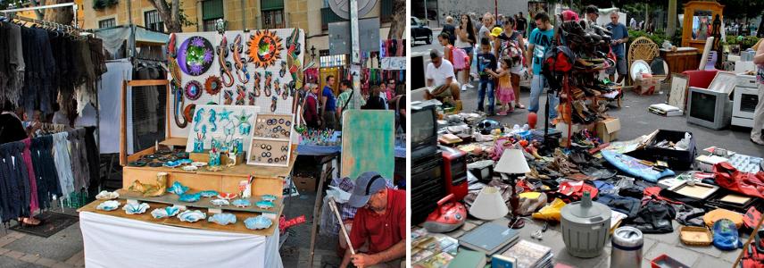 Растро Тенерифе, Блошиный рынок