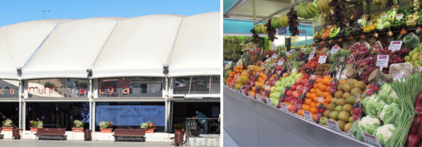 Рынок Ла-Лагуна, Тенерифе фрукты