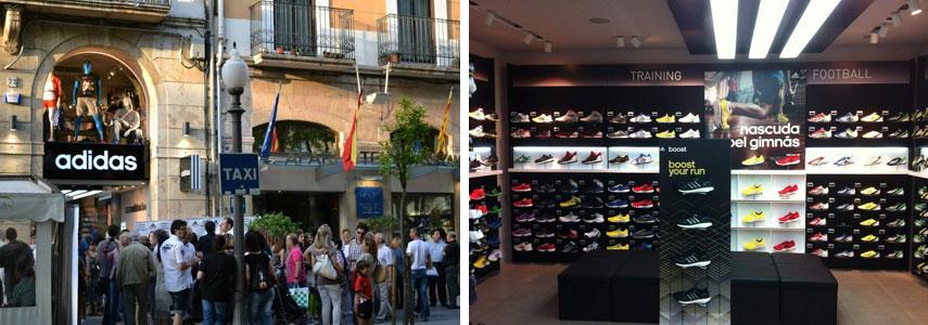 Магазин Adidas TGN, реус или таррагона