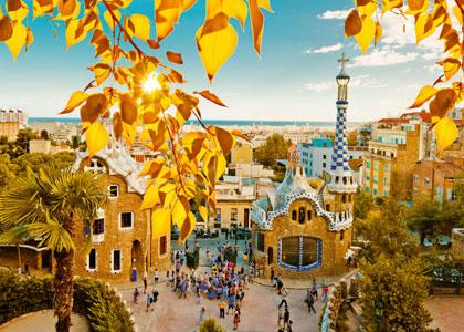 Осень в Барселоне
